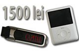 <b>USB-uri de 2 Gb, iPoduri nano de 4 Gb si 1500 Ron!</b><br />