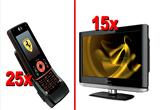 <b>15 LCD TV Prestigio P7220 DVD-XD, 25 de telefoane MOTO Z8 - Ferrari Limited Edition</b><br />