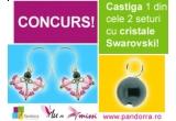 2 x set de bijuterii cu cristale Swarovski