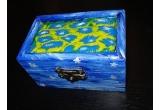 o cutie pentru bijuterii lucrata manual