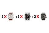 9 x ceas ORIENT