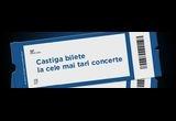 2 bilete la concertele lunii iunie (Eric Clapton - 11 iunie, Elton John - 12 iunie, Aerosmith - 18  iunie, Gotan Project - 25 iunie)