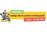 o excursie de 3 persoane la Disneyland Paris