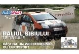 o excursie pentru doua persoane la Raliul Sibiului