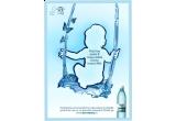 o sedinta foto pentru layout-ul / materialele folosite ca imagine pentru produsele Dorna Izvorul Alb Baby + jucarii si hainute in valoare de 500 Euro