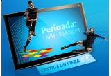 un televizor cu plasma Panasonic Viera NeoPDP 3D 50VT20, 150 x invitatie la film (doua bilete + un meniu de doua persoane)