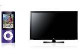 5 x iPod Nano 8GB, 2 x HD-Tv LCD LG 32LD450