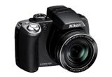 <b>Un aparat foto Nikon P80, doua carduri de memorie de 4 GB si un aparat foto NIKON L16</b> <br />