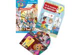 """<b>8 premii, constand in cate un DVD Adibou, o carte de activitati Smart Kids si o mini-enciclopedie """"Afla tot""""</b><br />"""