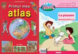 """<b>10 premii oferite de Erc Press, constand in 5 premii a cate o revista cu VCD Heidi si 5 premii a cate un atlas """"Primul meu atlas""""</b><br />"""