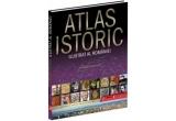 """3 x cartea """"Atlas istoric ilustrat al Romaniei"""""""