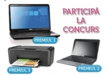 laptop Dell Inspiron N5010, laptop Dell Inspiron Mini 1011, 3 x imprimanta HP Deskjet F2480 AiO, o carte de la Editura Nemira - zilnic