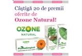 20 x set produse Ozone Natural (Sediphyt, Plantagingival, Nicotan, Antialcool Plant)