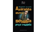 "cartea ""Apararea invoca nebunia"" de Woody Allen / zi"