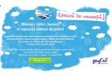2 bilete de avion catre orice destinatie Blue Air