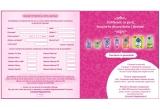 4 x 2000 RON, 240 x set produse Libresse (contine 10 pachete Libresse Normal 32)