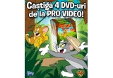 4 x DVD Aventurile lui Tom si Jerry