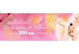 un voucher de 200 RON pentru parfum