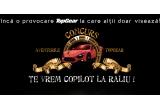 sansa de a fi copilot la Super Speciala Raliului Tara Barsei al unuia dintre copilotii Jack Daniel's Rally Team (27 august, Baneasa Shopping City-Bucuresti), 99 x tricou