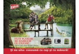 3 x Dacia Duster, 1.500 x aparat foto Canon PowerShot A490, 40.000 x baxuri de bere, 100 x sticla PET 2l de bere Ciucas