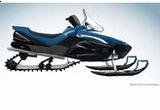 un snowmobil