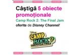 """5 x set de obiecte promotionale """"Camp Rock 2: The Final Jam"""""""