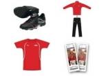 10 x pantofi Puma / zi, 16 x tricou Puma / zi, 8 x trening Puma / zi, un turneu in Europa alaturi de Echipa Nationala la meciurile oficiale din 2011 / saptamana