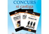 Un set de 3 carti de PR oferite de editura Tritonic