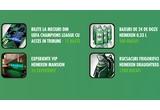 10 x bilet la meciurile din grupele UEFA Champions League 2010-2011 cu acces in culisele stadionului, 24 x experienta Heineken Mansion, 1200 x rucsac inscriptionat Heineken, 500 x bax de 24 doze Heineken de 0.33L