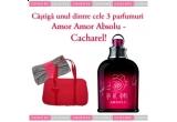 un parfum Amor Amor Absolu + o geanta eleganta Cacharel, un parfum Amor Amor Cacharel + un plic elegant Cacharel, un parfum Amor Amor Cacharel
