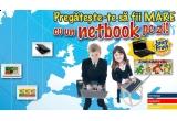 un netbook / zi, un macbook, 50 x Juicypack