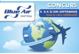 3 x un bilet de avion dus-intors spre orice destinatie Blue Air
