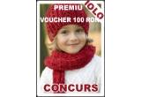 un voucher de 100 RON pentru cumparaturi pe Iolo.ro