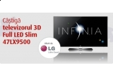un televizor LG 3D Full LED Slim 47LX9500