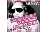 5 x invitatie dubla la concertul David Guetta