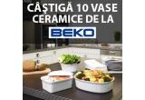 10 x vas ceramic pentru gatit Beko