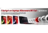 un laptop Alienware M11x Cosmic Black