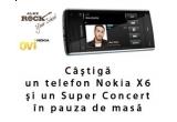 un telefon Nokia X6 de 8 GB + un super concert in pauza de masa / saptamana
