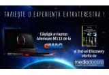 un laptop Alienware M11X, 4 x colectie de DVD-uri Discovery