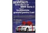 o masina BMW Seria 3, 2 x incaltaminte gratuita pentru 5 ani in valoare de 2.000 lei anual, 10 x incaltaminte gratuita in valoare de 1.000 lei