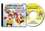 3 x CD personalizat cu numele copilului tau