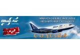 2 x bilet de avion pentru orice destinatie BlueAir
