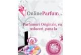 2 x voucher de 150 RON de la Onlineparfum.ro