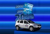 4 x masina Dacia Duster, 180 x card BCR 200 RON, 2000 x card Goodbee