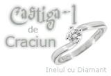un inel cu diamant veritabil