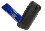 1 x flash drive Kingmax U-Drive; 1 x husa Krusell Luna de telefon mobil din piele