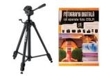 """un trepied Velbon DF-60 + cartea """"Fotografia Digitala cu aparate foto DSLR"""""""