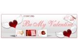 """1 x eCard personalizat cu tema """"Be My Valentine"""", 11 x eCard digital (jpeg/pdf)"""