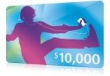 un voucher de 10.000 de dolari pentru iTunes
