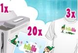1 x set cu un X-Box 360 + 2 calendare Trilulilu 2011 + o cana + un tricou Trilulilu, 1 x set cu un iPod nano 4 GB + 2 calendare Trilulilu 2011 + o cana + un tricou Trilulilu, 1 x set cu 2 calendare Trilulilu 2011 + o cana + un tricou Trilulilu, 7 x set cu 2 calendare Trilulilu 2011